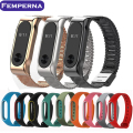 Femperna For Xiaomi Mi Band 2 metal Strap For Xiaomi 2 Wristband Strap Belt for Miband 2 Bracelet