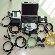 2в1 диагностический инструмент sd подключения mb star c5 для bmw icom next 1 ТБ программное обеспечение в CF-30 toughbook Многоязычная готовая к использованию