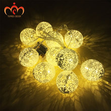Lace LED round ball lighting girls room decoration wedding lights ornament DIY festival decor christmas gift  Valentines Day