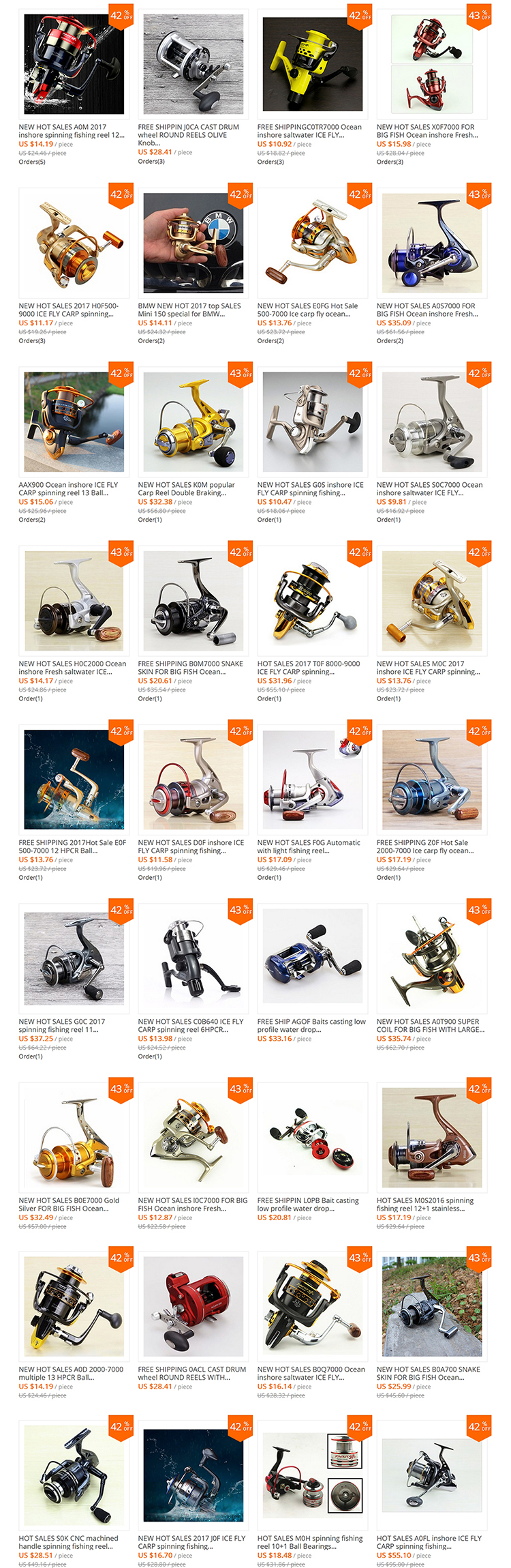 Fish Reels - Shop Cheap Fish Reels from China Fish