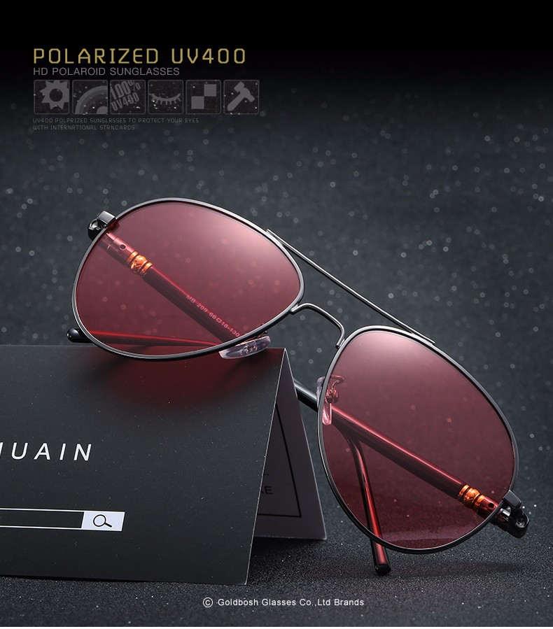 02c18e50192 CNHUAIN Brand Points Night Driver Driving Glasses Polarized ...