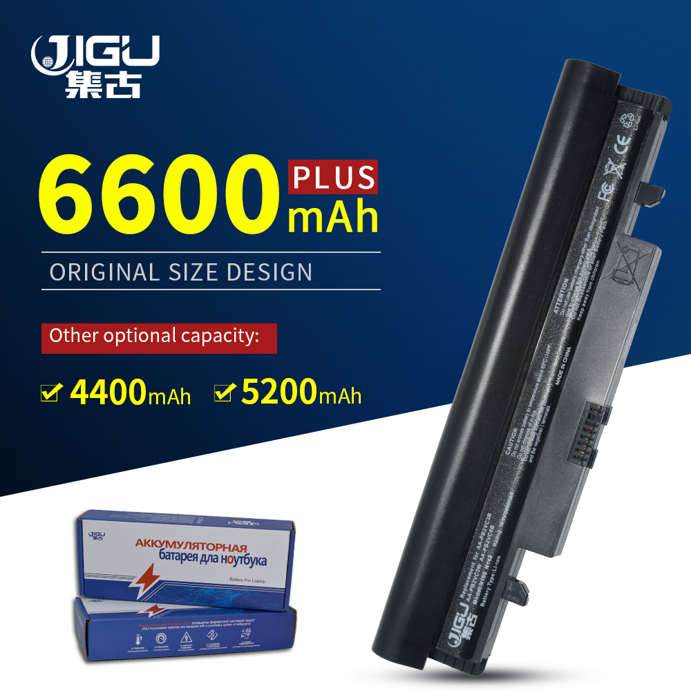 JIGU AA-PB3VC6W AA-PB2VC6W Laptop <font><b>Battery</b></font> For <font><b>Samsung</b></font> <font><b>N150</b></font> Black And White image
