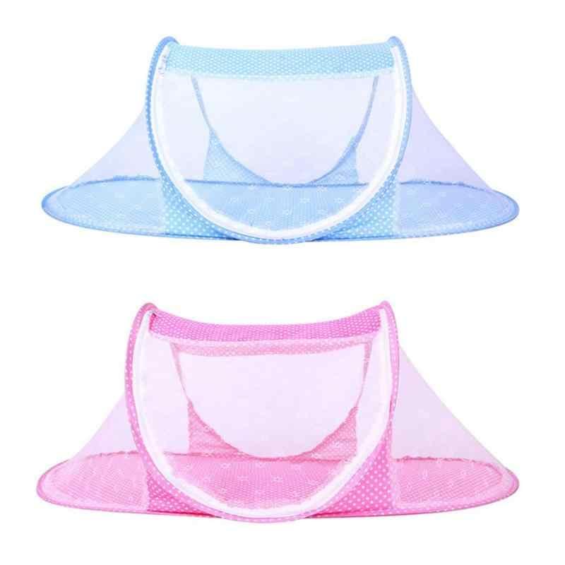Портативный летние детские кроватки сетки Multi-Функция Складная подставка москитная сетка палатка новорожденных постельные принадлежности защитная сетка