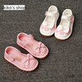 size 14-25 children's spring princess fashion shoes baby girls bow slip-resistant shoes