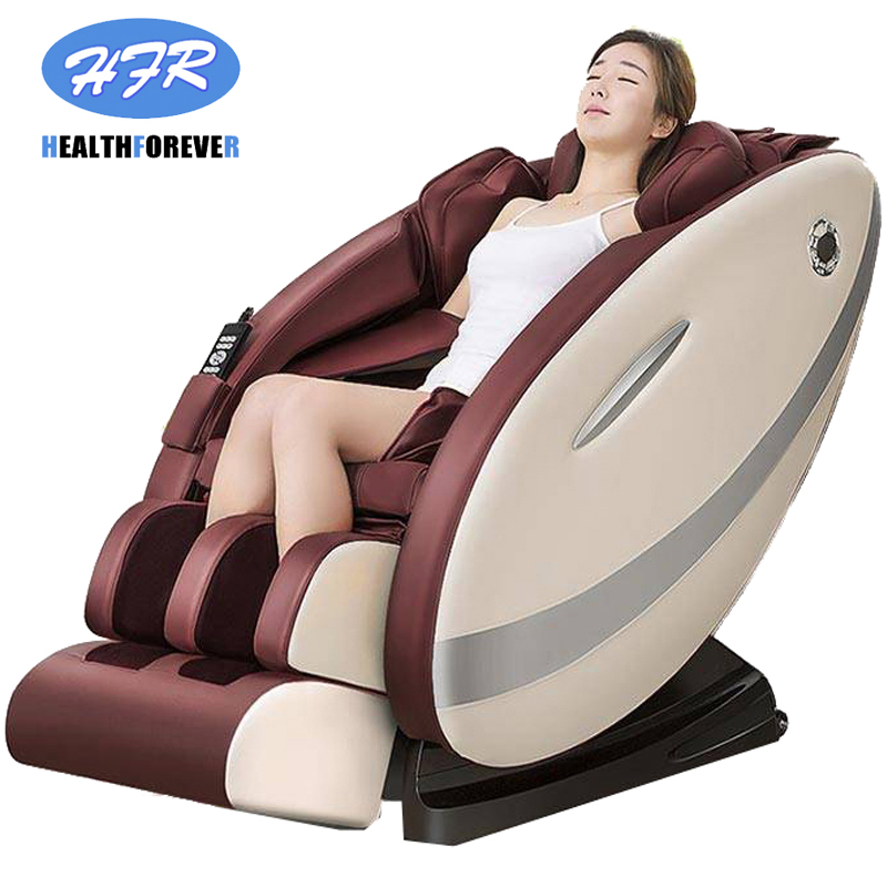 Brown Power Supply Price Used 3d Foot Shiatsu Cheap Zero Gravity Massage Chair Electric Full Body Massage Chair 4d