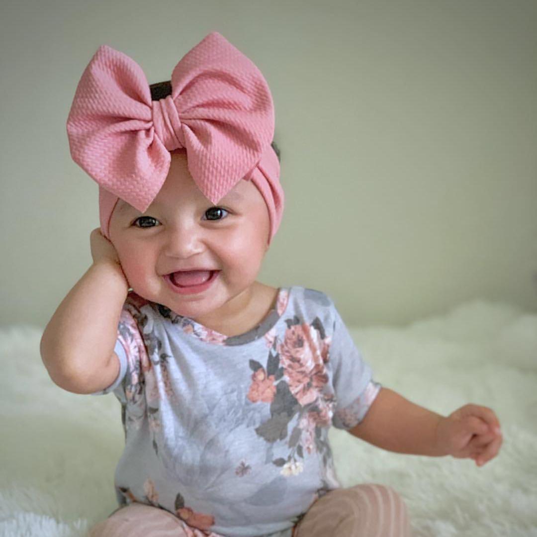 Baby Headband  Pink Baby Bow  Baby Headbands  Headbands for Babies  Baby Girl Headband  Baby Girl Hair Accessories