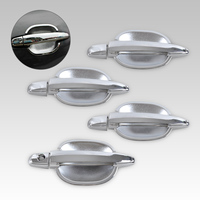 New Tripled Chrome Door Handle Cup Bowl Cover Trim Car Accessories For Toyota Camry Highlander Avalon