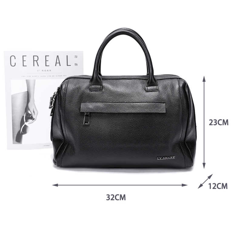 99c5e4eb67 SHARK Genuine Leather Women Bag Shoulder Bag Ladies Crossbody Bag Women  Handbags Messenger Bag ...