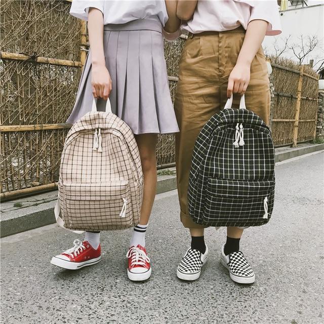 اليابان نمط 2 قطعة على ظهره المرأة Preppy الجلد المدبوغ حقائب الظهر الفتيات الحقائب المدرسية أكياس ظهر للسفر الإناث على ظهره سعة كبيرة