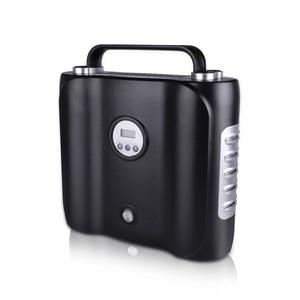 Image 2 - Bomba de compresor de aire de coche eléctrico con pantalla Digital de 12 V, bomba inflable Digital con luz LED, inflador de aire Digital de doble cilindro para coche