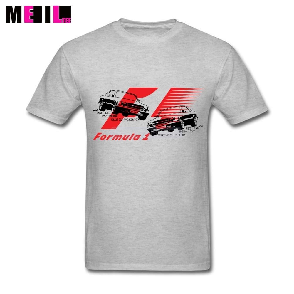 Desain t shirt racing - Xxxl 2017 Formula Racing Car Art Tee Shirts Gila Anak Laki Laki Katun Lengan Pendek