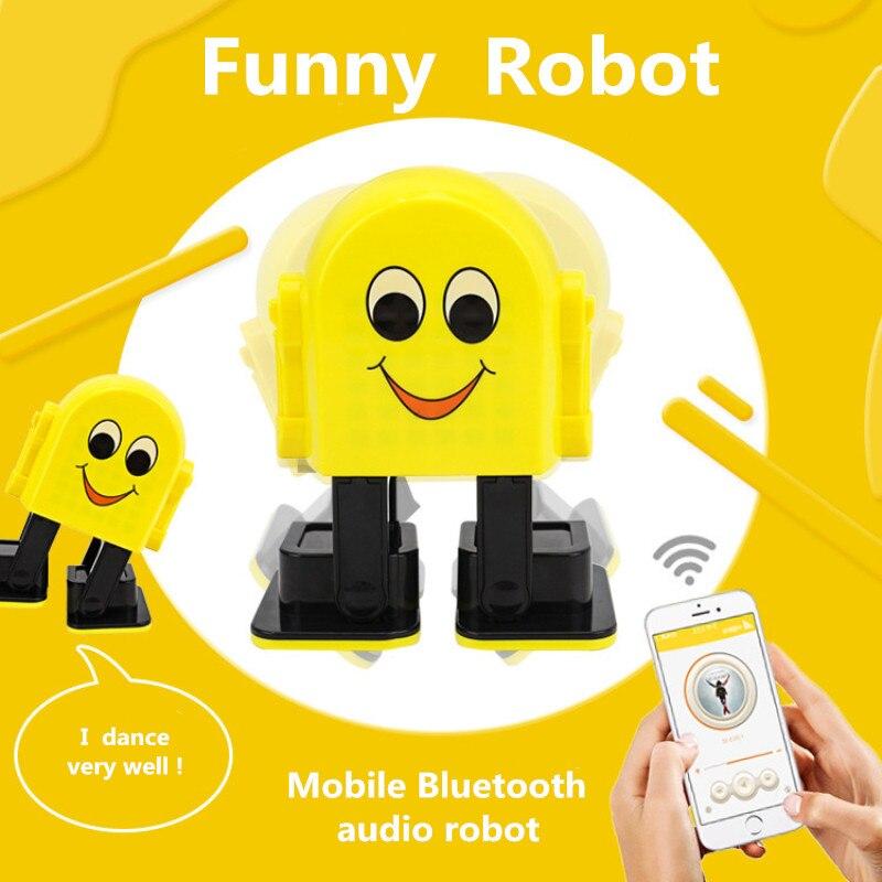 E-1 Bluetooth Intelligent danse chant Musical Robot ble connecter éducatif apprentissage jouet usb charge VS dinosaure enfant meilleur gif