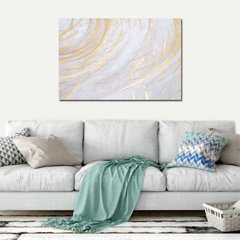Metal Wall Art Decor For Living Room Small Contemporary Design Ideas Detail Feedback Questions About Newbility Abstract Pattern Paintings Modern Lines Home Vintage Minimalist Pictures