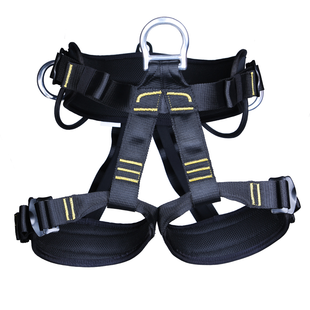 Outdoor Sports High Strength Rock Climbing Harness Safety Seat Belt Mountaineering Harness Rappelling Equip for Climbing Acc цена и фото