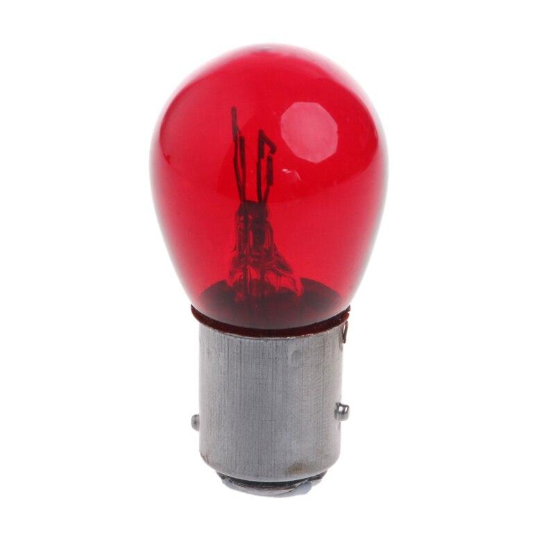 714049 s 15 5 1Pc S25 5W 1157 Bay15d DC 12V Car Tail Lamp Braking Light Stop Indicator Bulb