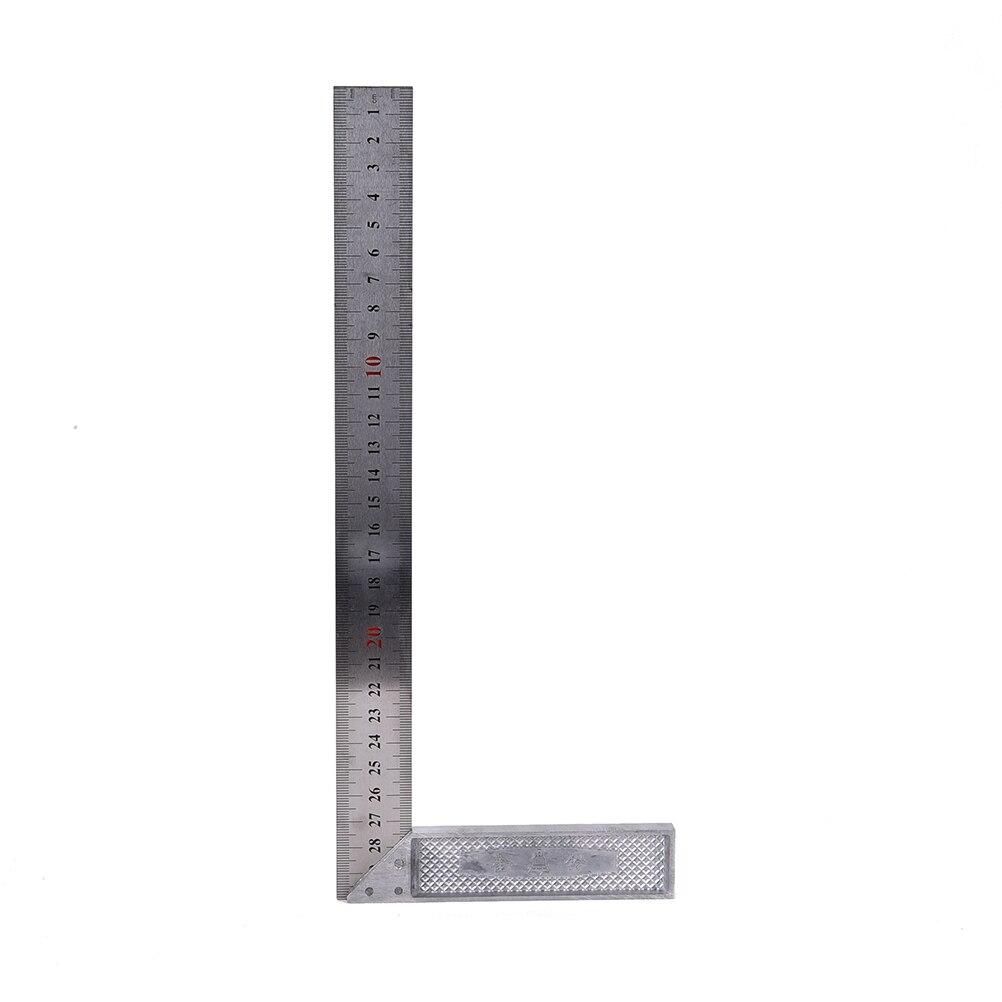 Favoriete Weergaloze 30 cm Rvs Haakse Vierkante Heerser Hoek Meten KV93