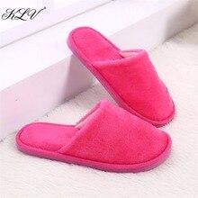 Thinkthendo модное женские домашние тапочки на нескользящей подошве мягкие теплые сандалии из хлопка размер 39 40
