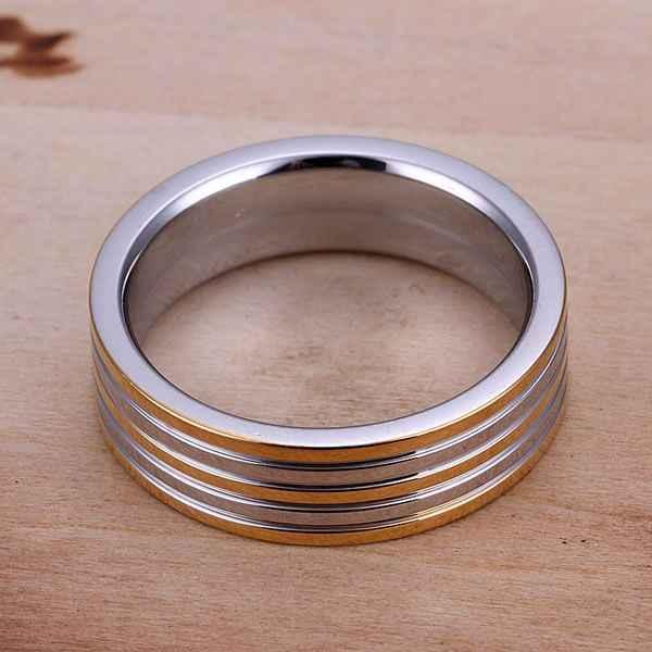 925ชุบเครื่องประดับขายส่งจัดส่งฟรีแหวนสำหรับหญิงและชายแฟชั่นเครื่องประดับโกลเด้นลายแหวน/askajjra LQ-R099