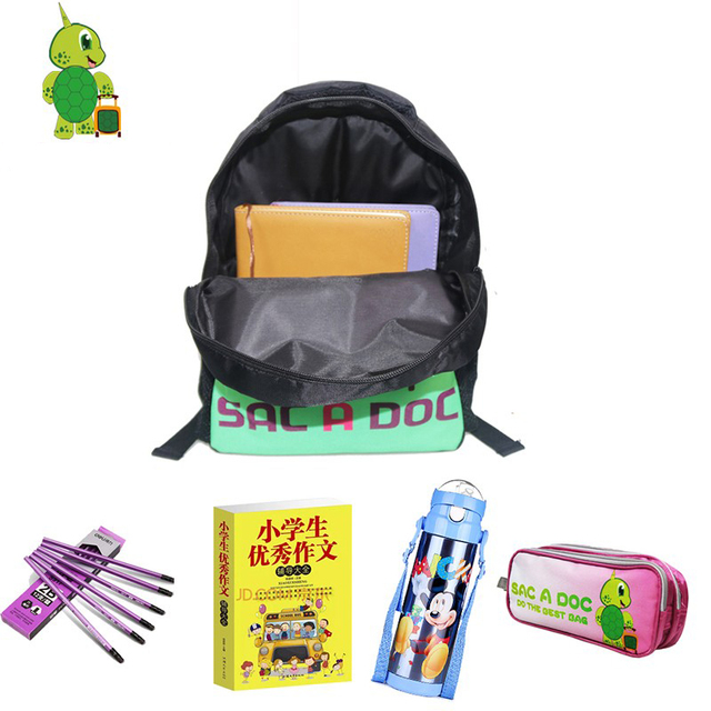 Dragon Ball Z Backpack for Children Book Bags