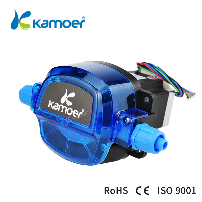 Kamoer 24V KHL peristaltic liquid pump with stepper motor mini dosing water pump kamoer 24vsmall peristaltic pump mini water pump liquid filling machine