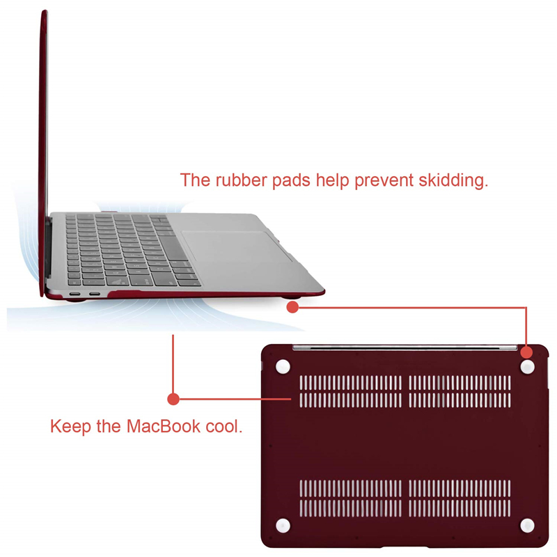 Image 5 - MOSISO Crystal Hard Case For Macbook Air 13 New 2018 Retina Pro 13 15 with/out Touch Bar Model A1706 A1707 A1990 AIR 13 A1932-in Laptop Bags & Cases from Computer & Office