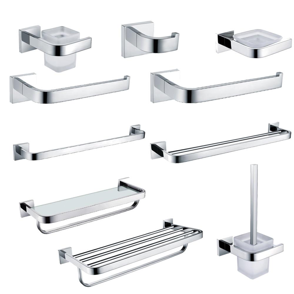 Bathroom Shelf Soap Dish Toilet Holder/&Tooth Brush Holder Bath Hardware Set