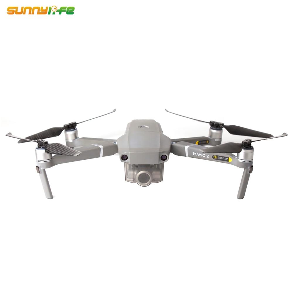 Новое поступление низкий уровень шума 8743F углеродное волокно пропеллеры для DJI MAVIC 2 PRO/ZOOM Drone аксессуары