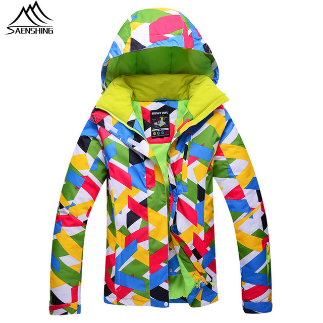 e44624416a41 Saenshing Waterproof Winter snowboard snow jacket women thermal ski ...