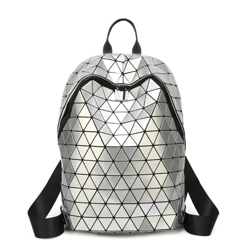 Japan style Diamond Lattice Women Backpack bao Geometry Backpacks For Teenage Girls School Bags Travel Bag Female Backpack LargeJapan style Diamond Lattice Women Backpack bao Geometry Backpacks For Teenage Girls School Bags Travel Bag Female Backpack Large