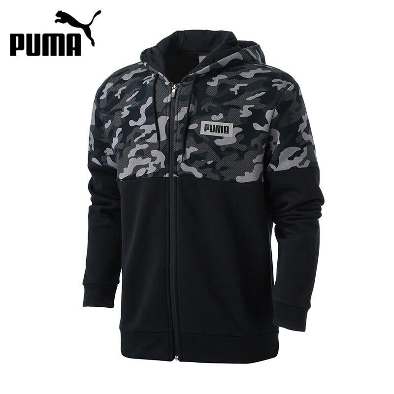 Original New Arrival  PUMA AOP PUMA Rebel FZ Hoody  Men's jacket Hooded Sportswear