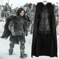 Game Of Thrones Jon Snow Cosplay Costumes Song Of Ice And Fire Halloween Costumes For Adult