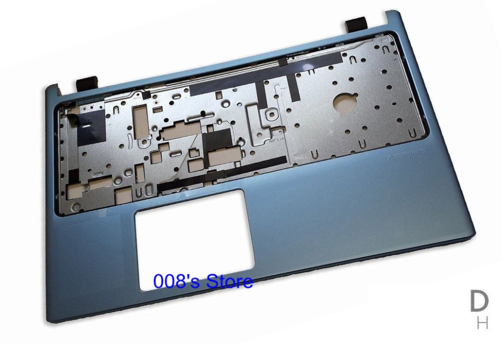Nouvel Ordinateur Portable Majuscules C Couverture Bleu Pour ACER Aspire V5-531 V5-531G V5-571 V5-571G Repose-poignets 60.4VM43.002