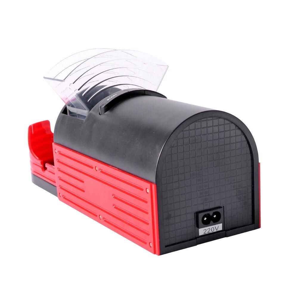1pcs Usage Rolling Machine Electric Automatic Cigarette Rolling Machine Tobacco Roller Maker Lady Cigarette