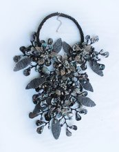 Handmade Seed beads Leaf Black shell flower Necklace for Women(China)