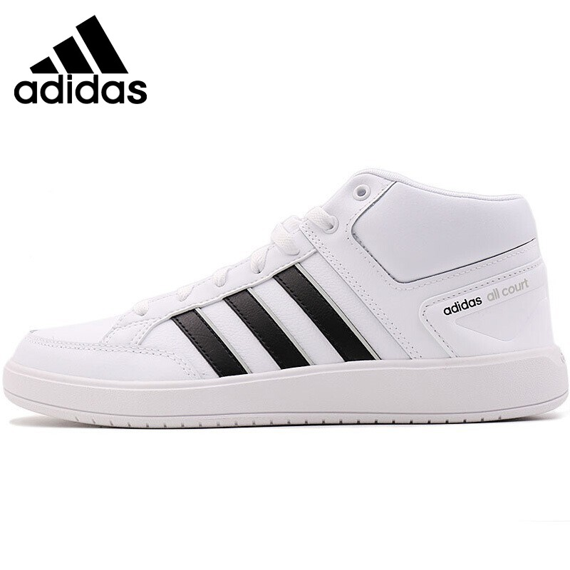 Original New Arrival 2018 Adidas CF ALL COURT MID Unisex Tennis Shoes Sneakers термоноски guahoo sport mid weight 150 cf bk