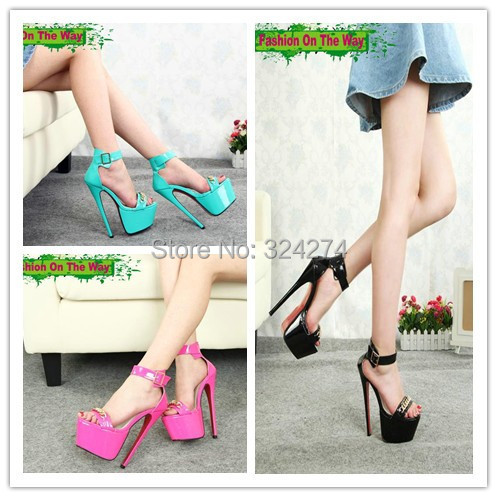 Heels Ultra High Size Platform Plus Sandals Sexy Rsthqdc 19cm Heeled 5R4AjL