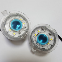 Free Shipping 4 Pcs Door 3D Shadow Logo Light Lamp With Projection Function For Toyota Corolla