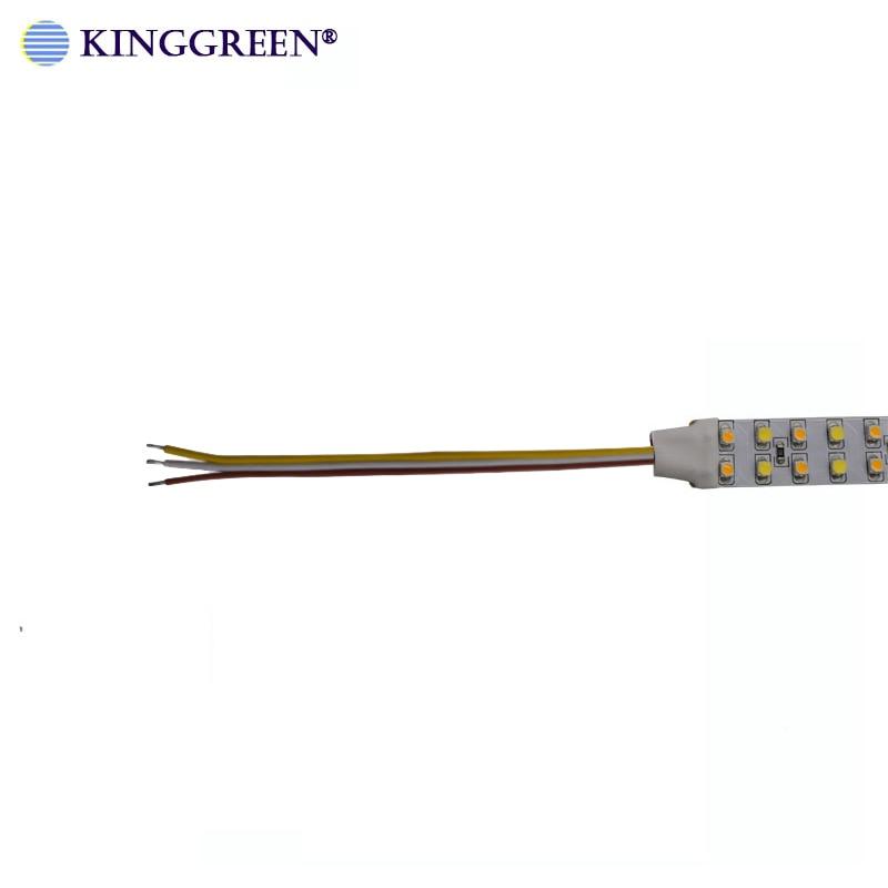 Image 5 - High CRI>90 3528 flexible color dimmable LED strip light DC24V 60 ,120, 240LED/m 3000K & 6000K CCT adjustable free shipping-in LED Strips from Lights & Lighting