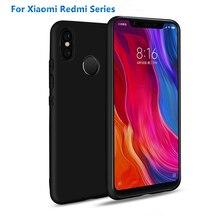 New Matte Candy Silicone Case For Xiaomi 8SE A2 A1 MIX2 Soft TPU Cover Redmi 6 6A 5A 5 plus 4A NOTE PRIME soft silicone