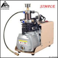 4500PSI High Pressure Electric pump PCP Compressor Reciprocating Air compressor for Pneumatic paintbal Airgun Scuba Rifle PCP