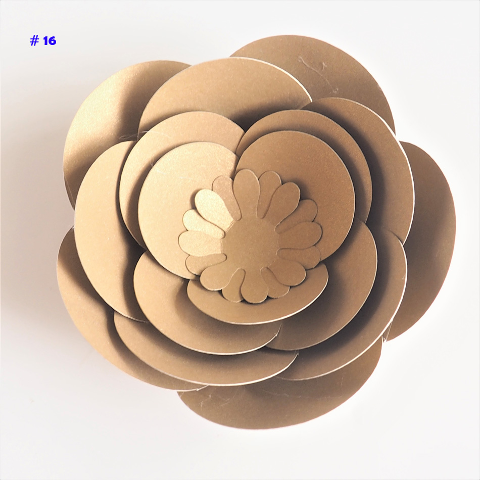 Hot Sale 2018 10cm Diy Paper Flowers Rose For Wedding Event