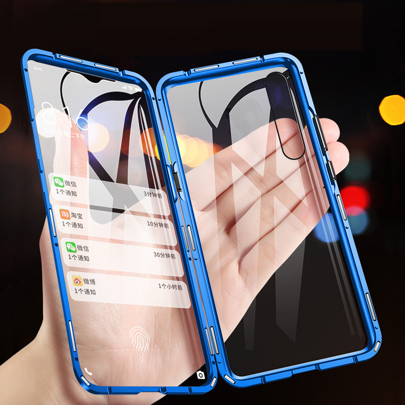 US $2 41 7% OFF|360 Magnetic Force For Huawei P30 P20 lite Case Tempered  Glass For Huawei P30 Pro lite P20 Pro For Huawei Nova 3 Back+Front-in