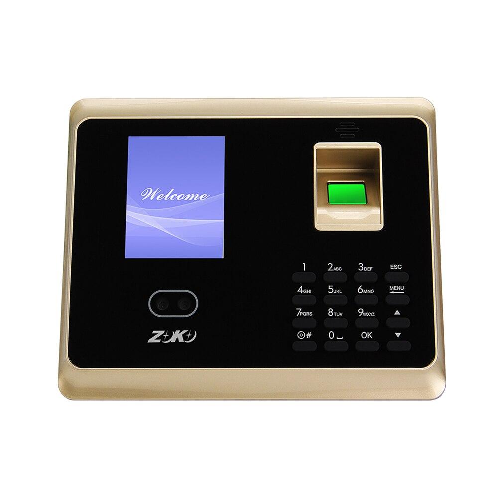 Royaume-uni/états-unis/ue Plug visage reconnaissance d'empreintes digitales accès fournitures de bureau système de ZK-TA50Control mot de passe Machine de présence