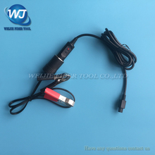 Fujikura FSM 50S/60s/61s/62s/80s fibra óptica splicer 12v dc carro cabo de carregamento dcc 12