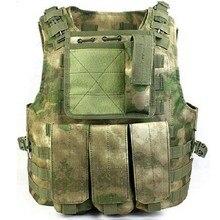 Военный жилет, тактический жилет, армейский жилет для фанатов-амфибий, жилеты, A-TACS, FG, цветной, Профессиональный жилет