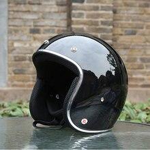 Casco Casque Old School Casco Scooter Helmets With Inner Sun Visor