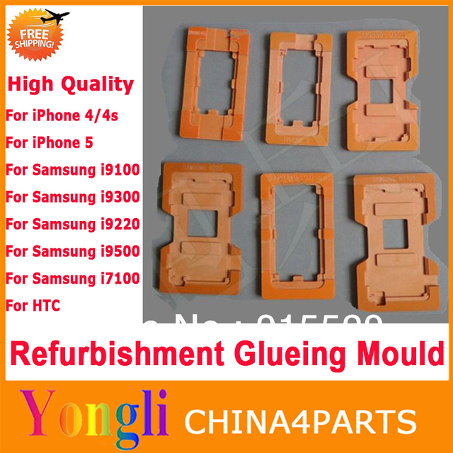 10in1  QUALIY LCD Refurbished Glass Mold Refurbishment Glueing Mould Repair For iPhone For Samsung For HTC LCD Outer Glass Lens