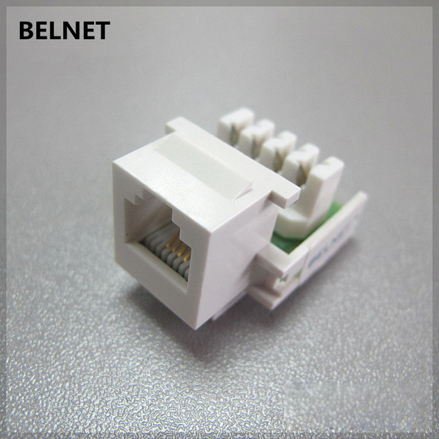 Pleasant Rj11 Telephone Voice Module Rj45 Connector Gold Plated 6P4C Copper Wiring Cloud Oideiuggs Outletorg