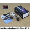 Для Mercedes Benz CLS Class W219 2004 ~ 2011/Предотвращения Столкновений Лазерная Противотуманные Фары Лампа/Лицензии пластины огни установлены