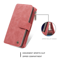 CaseMe Genuine Real Leather Wallet Case For Samsung font b Galaxy b font font b S8